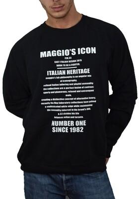 FELPA ITALIAN HERITAGE CREWNECK