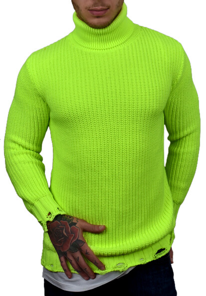 MAGLIONCINO SWEATER FLUO