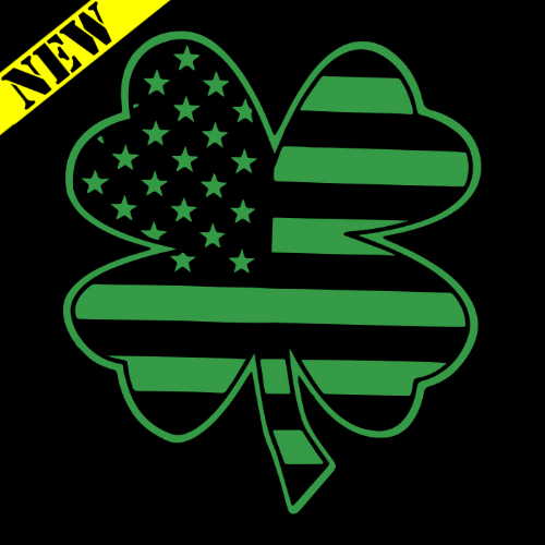 T-Shirt - Clover Flag PB-SV-495675CR