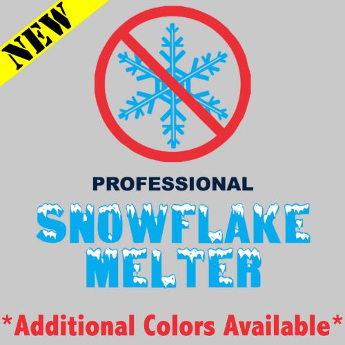 T-Shirt - Professional Snowflake Melter PB-SV-519548CR
