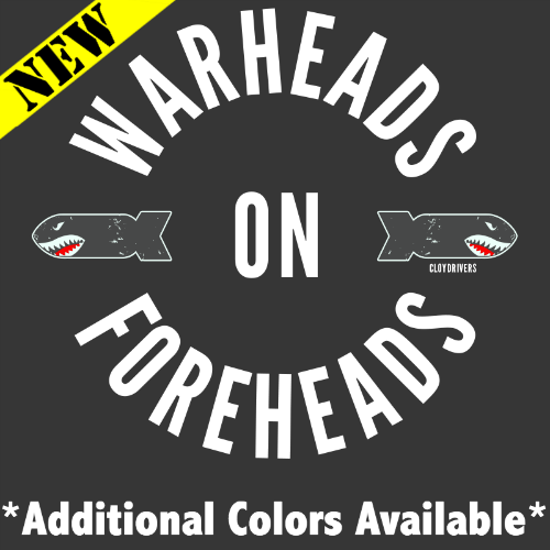T-Shirt - Warheads On Foreheads 2.0 PB-SV-510197CR