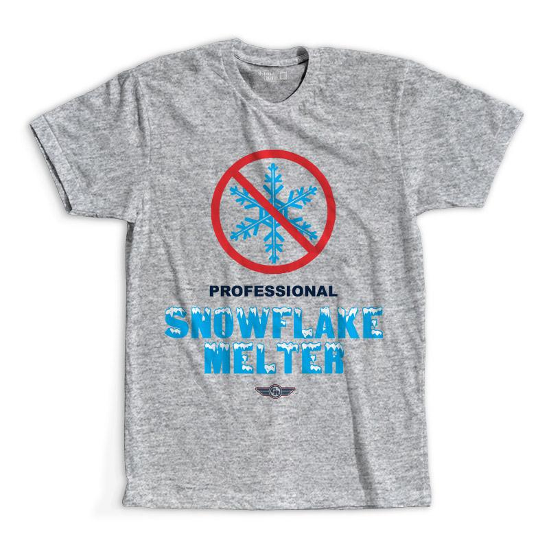 T-Shirt - Professional Snowflake Melter