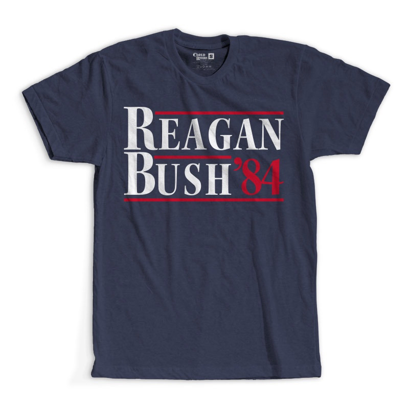 T-Shirt - Reagan Bush '84