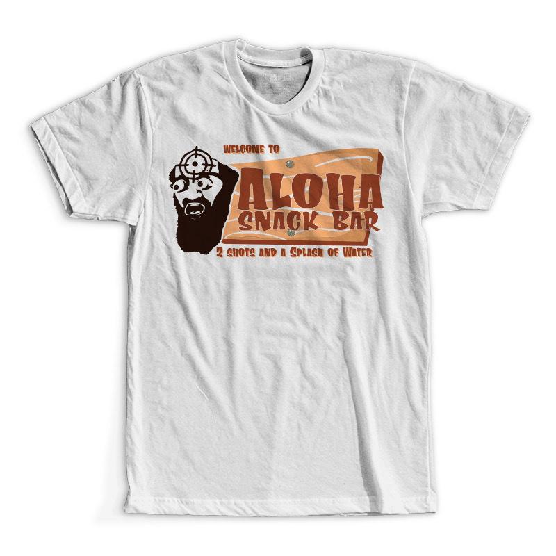 T-Shirt - Aloha Snackbar