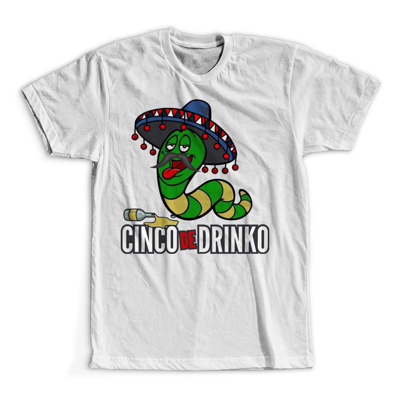 T-Shirt - Cinco de Drinko