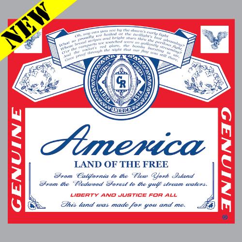 T-Shirt - America. Land of the Free PB-SV-652569CR