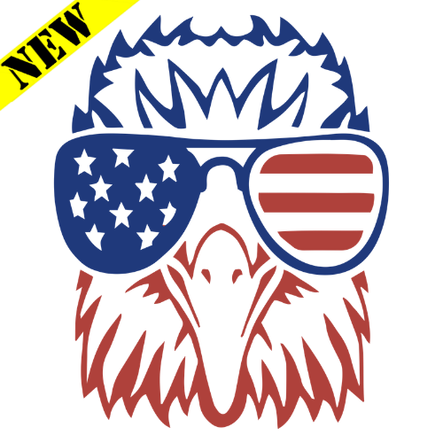 T-Shirt - Merican Eagle PB-SV-680688CR