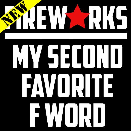 Tank Top - Fireworks. My Second Favorite F Word PB-SV-680609CR