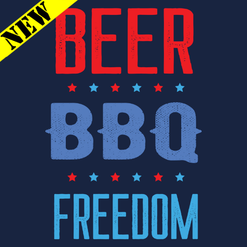 Tank Top - Beer. BBQ. Freedom. PB-SV-680570CR