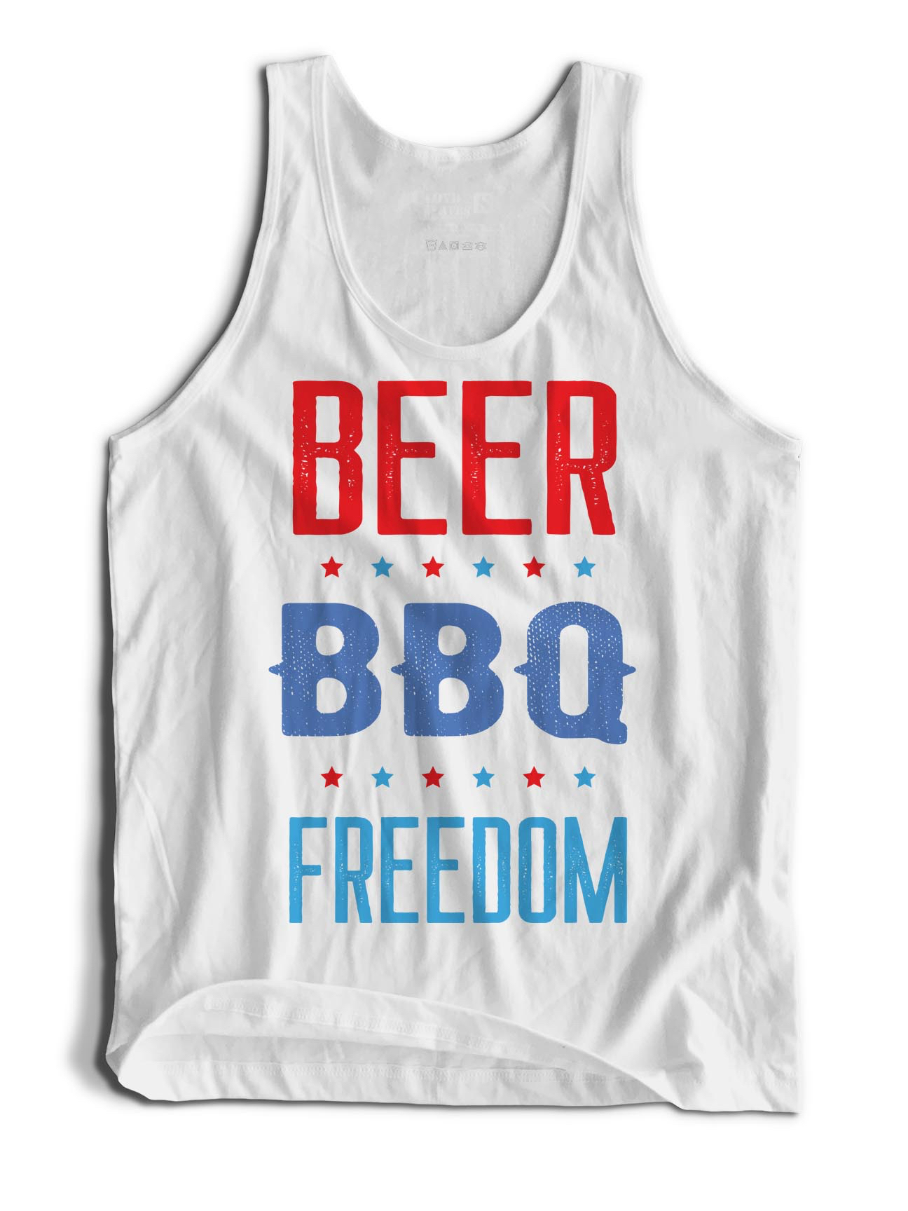 Tank Top - Beer. BBQ. Freedom.