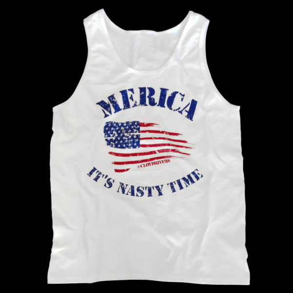 Winter Clearance Tank - Merica. It's Nasty Time