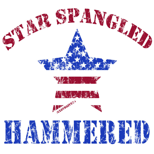 Winter Clearance Tank - Star Spangled Hammered 00256