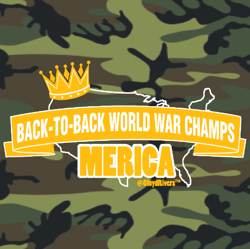 T-Shirt - World War Champs (Long Sleeve) 00322