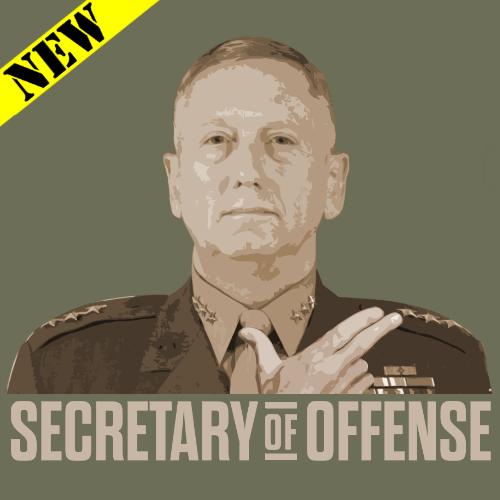 T-Shirt - Secretary of Offense 01237