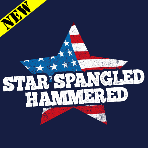 Tank Top - Star Spangled Hammered 11919