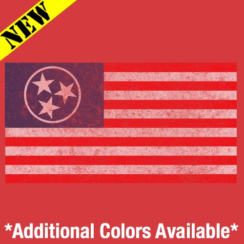 T-Shirt - TN American Flag 14342