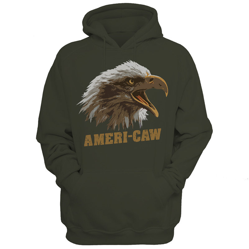 Hoodie - Ameri-CAW