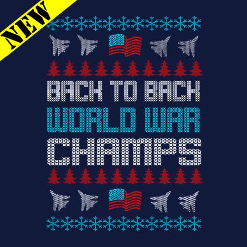 T-Shirt - Christmas Sweater - World War Champs PB-SV-268010CR