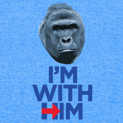 T-Shirt - I'm With Him