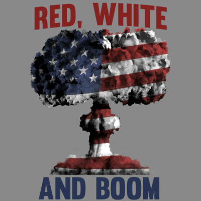 Tank Top - Red, White, and BOOM