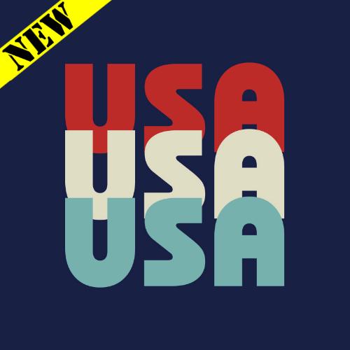 T-Shirt - USA Tri-Color PB-SV-397611CR