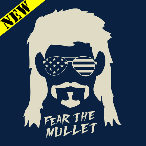 T-Shirt - Cloyd Rivers: Fear the Mullet 14597