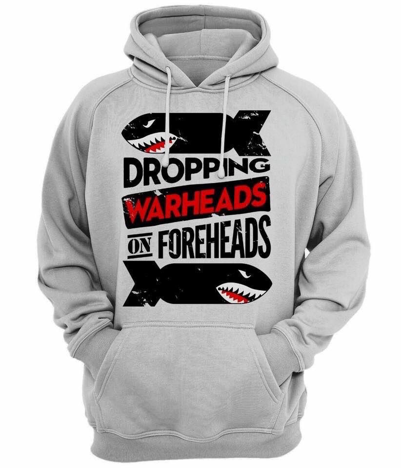 Hoodie - Warheads on Foreheads