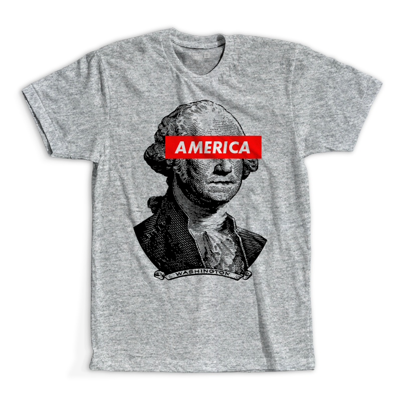 T-Shirt - Washington America