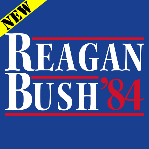 Tank Top - Reagan Bush '84 (Royal) 14867
