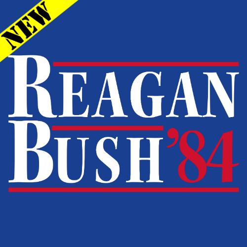 T-Shirt - Reagan Bush '84 PB-SV-522432CR