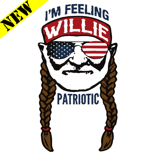 T-Shirt - Willie Patriotic PB-SV-252427CR