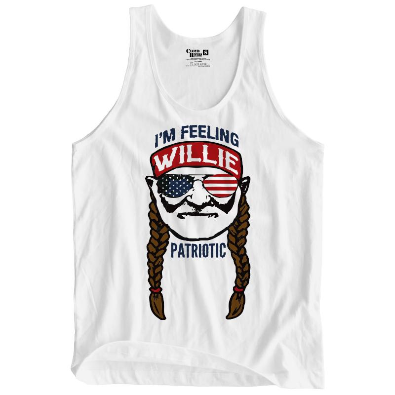 Tank Top - Willie Patriotic