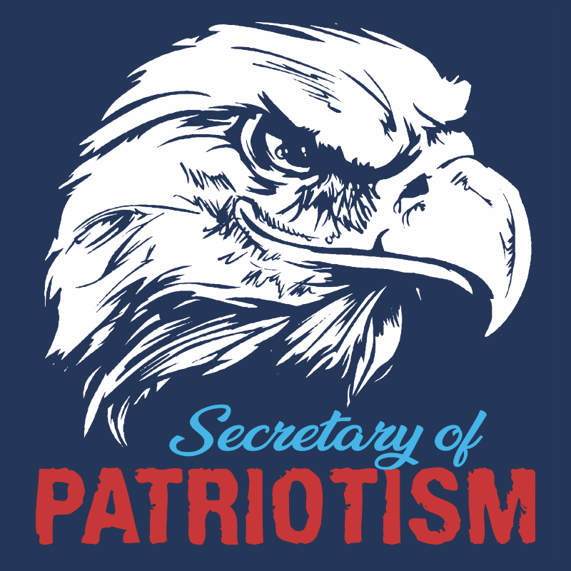 Tank Top - Secretary of Patriotism