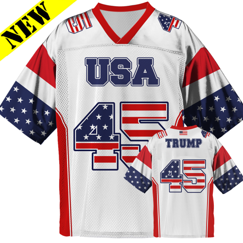 2ec9de7eefb GH Football Jersey - Trump  45