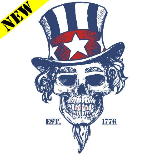T-Shirt - Uncle Sam Skull PB-SV-212602CR