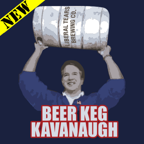 T-Shirt - Beer Keg Kavanaugh PB-SV-231960CR