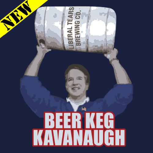 T-Shirt - Beer Keg Kavanaugh