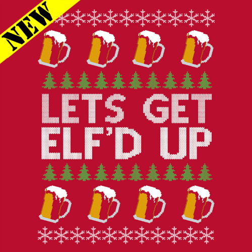 Sweatshirt - Christmas Sweater - Elf'd Up PB-SV-267930CR