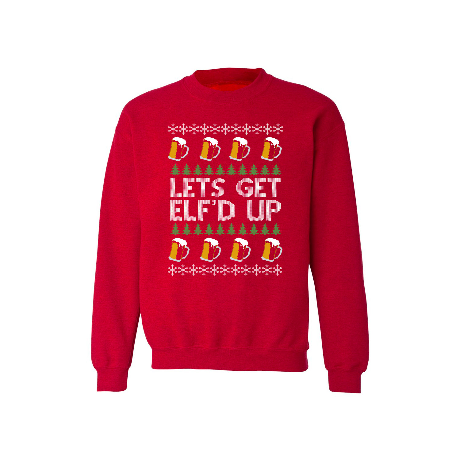Sweatshirt - Christmas Sweater - Elf'd Up
