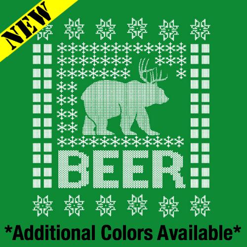 T-Shirt - Christmas Sweater - BEER PB-SV-276922CR