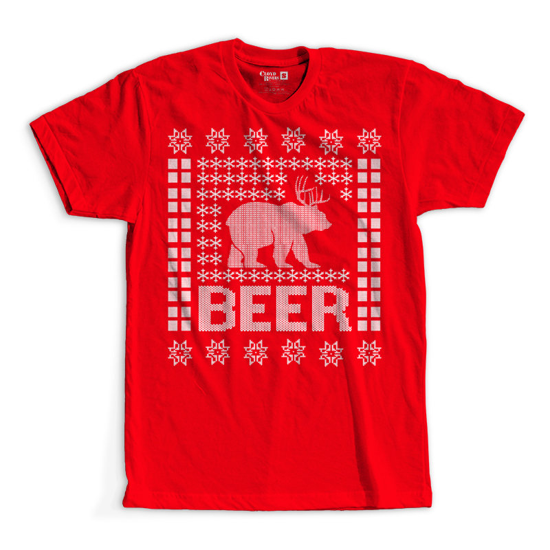 T-Shirt - Christmas Sweater - BEER