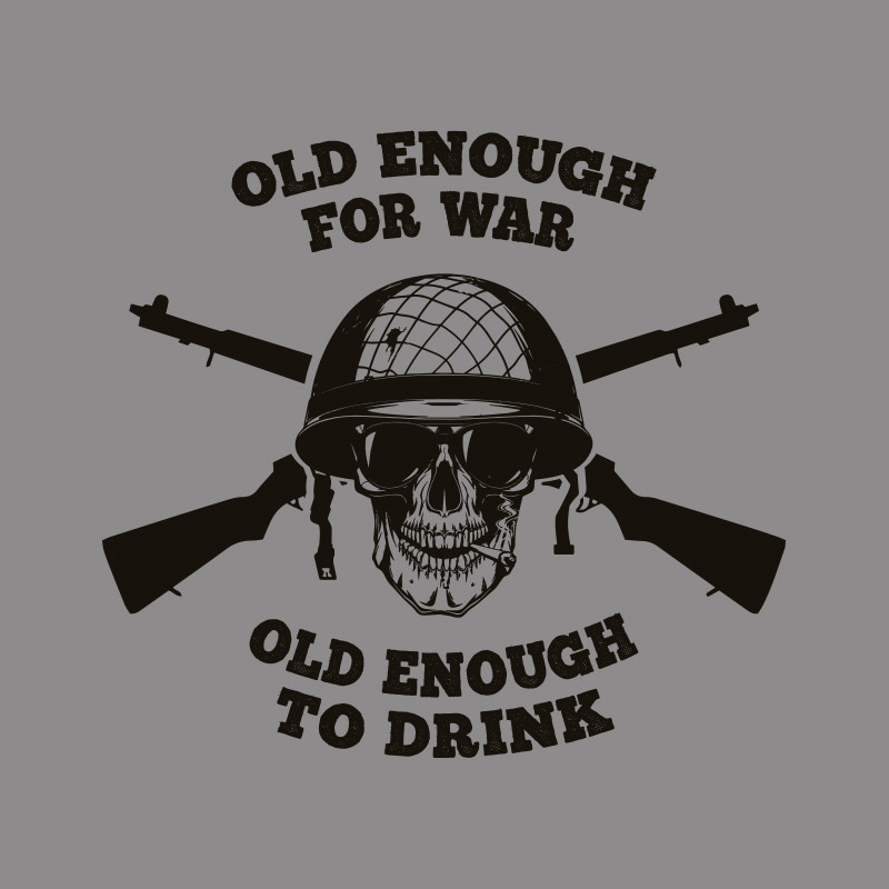 T-Shirt - Old Enough To Drink