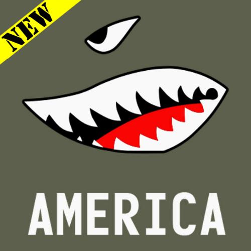 T-Shirt - American Bomb Face PB-SV-382301CR