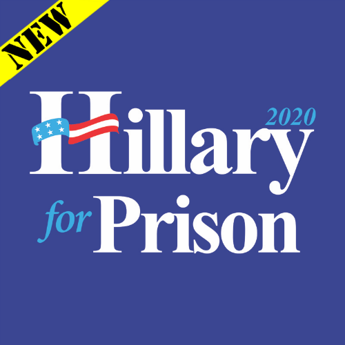 T-Shirt - Hillary for Prison 2020 PB-SV-397587CR