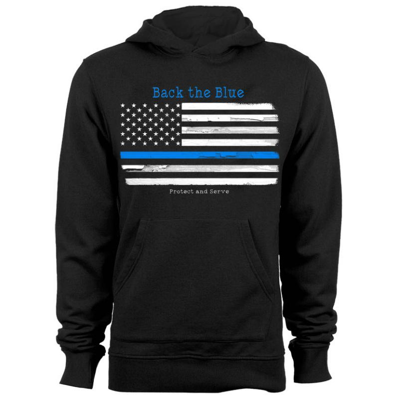 Hoodie - Back the Blue