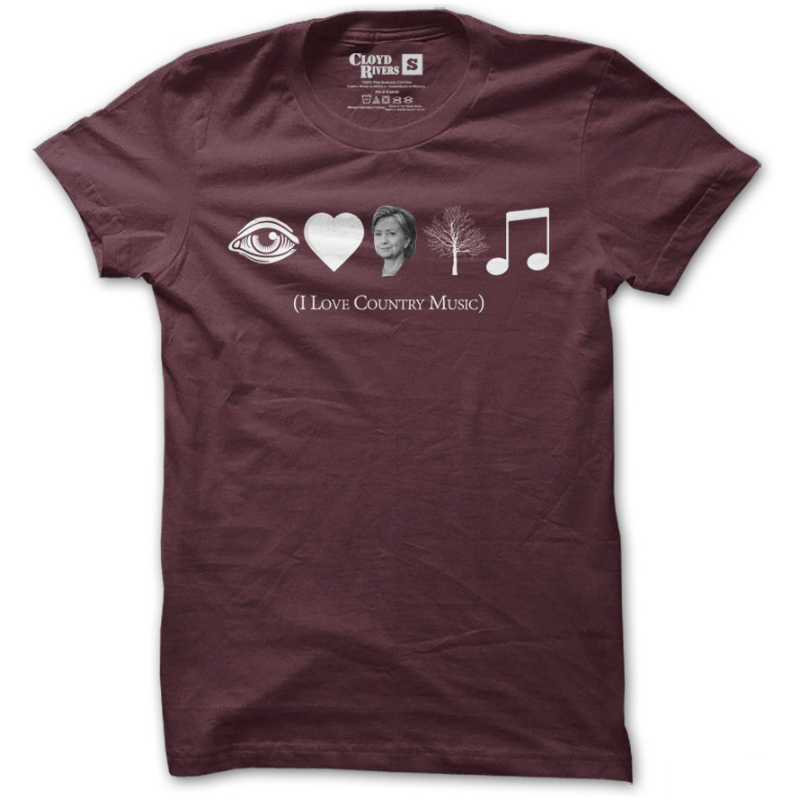 T-Shirt - I Love Cuntry Music