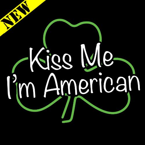 T-Shirt - Kiss Me, I'm American PB-SV-457432CR