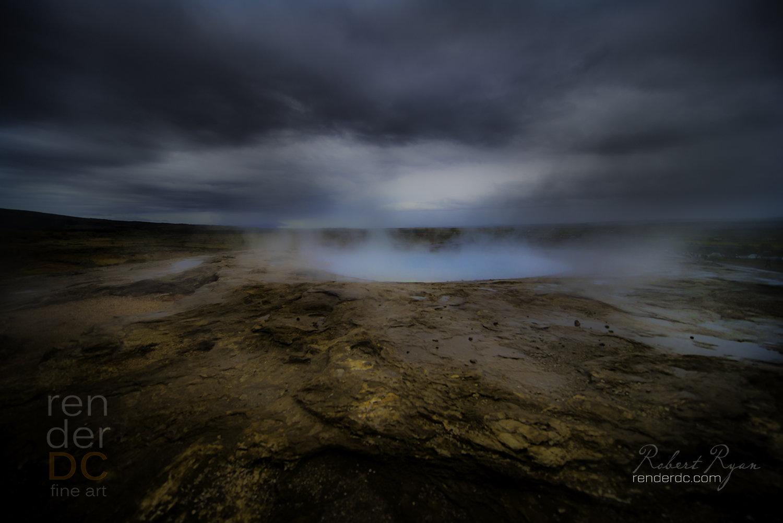 Hot Blu - Iceland 24x36