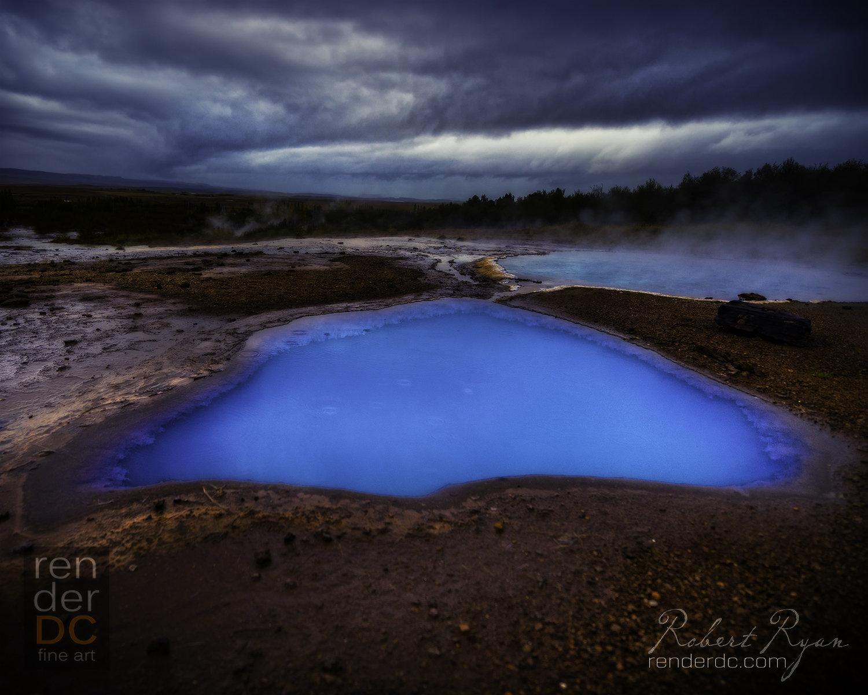 Aquamarine, Iceland 26x36