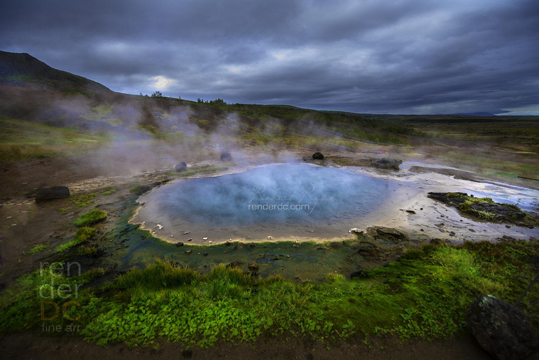 Hot Pool - Geysir, Iceland